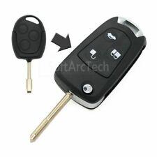 Flip Key Shell Uncut refit FORD Focus Festiva Mondeo Transit Connect Remote L