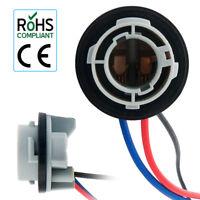 2x BAY15D GLB380 1157 Socket Adapter Holder for Car Bulb Tail Stop Light Globe
