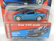 2018 AUTO WORLD 1:64 *PREMIUM 1B* BLUE 2011 Corvette Z06 *NIP*