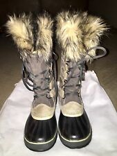 Sorel Joan Of Arctic Boots Size 40 In shale