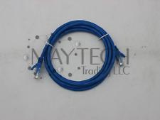 Used CAT6 Ethernet Cable 6 feet Blue Network LAN 24AWG 8P8C RJ-45 UTP PVC OD:5.6