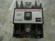 CUTLER-HAMMER TYPE M RELAY