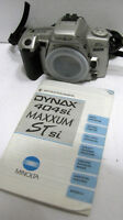 Vintage Minolta Maxxum ST-Si Dynax 404si 35mm SLR Film Camera Body TESTED