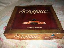 1998 Scrabble Deluxe Crossword Game Collector's Ed 50th  Anniversary Turntable