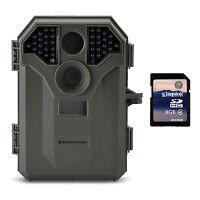 Stealth Cam 8MP No Glo Invisible Infrared Game Trail Camera w/ Video + SD Card