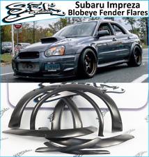 Subaru Impreza (Blobeye) Fender Flares Set , ABS plastic, 8 pcs. set, WRX,STI