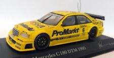 Voitures de courses miniatures jaunes MINICHAMPS pour Mercedes