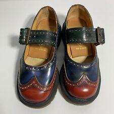 Vintage Doc Marten Fluevog Rare Oxford Maryjane Shoe Size 2 Unisex 90s Collector