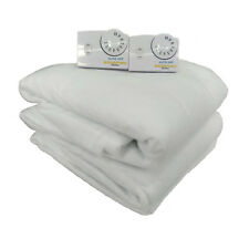 "Cannon Biddeford White Heated Mattress Pad, Queen 60""x80"""