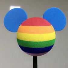 Cute Camouflage Mickey Mouse Antenna Balls Car Aerial Ball Antenna Topper Decor
