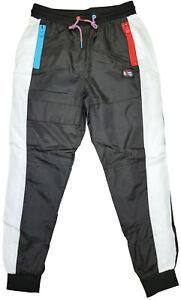 Men's Born Fly Black/Red/White A Different World Nylon Pants
