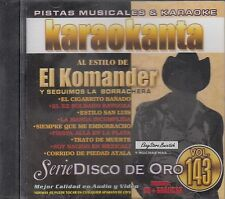 El Komander Serie De Disco De Oro Vol 143 Karaoke New Nuevo Sealed