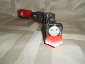 Thomas & Friends Trackmaster Motorized Snow Clearing HIRO Set Plow Tender Car