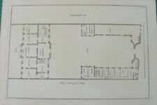 PLAN HOTEL PARTICULIER original XVIII s. n 43