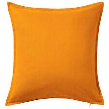 IKEA irnotaio Fodera Cuscino poggiatesta Arancione Cotone 50x50cm NUOVO