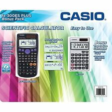 Casio fx-300ES Plus Scientific Calculator BUNDLE with SL-300SV Bonus Pack S