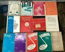 Vtg Lot Beginner Piano Lesson Books Michael Aaron John Thompson Schaum Herbert
