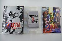100% COMPLETE Zelda Ocarina of Time Japanese Nintendo 64 N64 NTSC-J