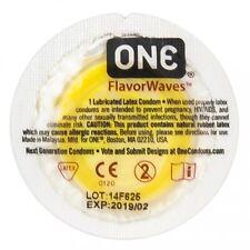 20 Condoms Bulk - One  FlavorWaves - Exp 2023