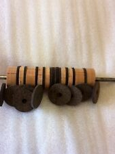 """Cork Rings Rubberized Inlay rings 1/8"""" Thick,  16 rings"""