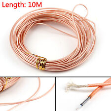 10m RG178 RF Coaxial Cable Connector 50ohm M17/93-RG178 Coax Pigtail 32ft UK