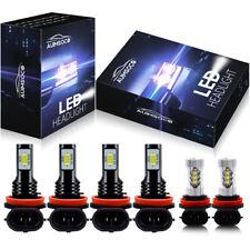 New listing For Nissan Altima 2007-2018 LED Headlight Hi/Lo beam Fog light Bulbs Combo Kit A(Fits: LaCrosse)
