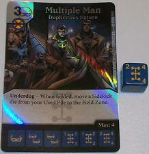 Foil MULTIPLE MAN: DUPLICITOUS NATURE 29 Deadpool Dice Masters