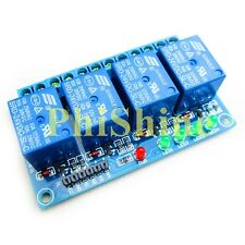 4 Channel 24V Relay Module Relay Expansion Board High Level Trigger Arduino