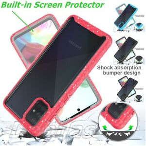 360 Case Full Hybrid Shockproof Phone Cover for Samsung S21 S20 FE A12 A21s A52