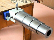 Round Stepped Steel Bracelet Mandrel With With Rotating Bench Holder