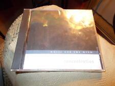 Music for the Mind: Concentration by Music For The Mind (CD, Oct-1996, JVC Compa