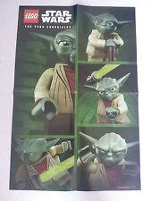 LEGO ® star wars ™ poster yoda Chronicles chroniques NEUF promo rare limitée