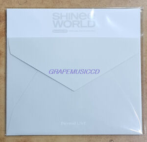 SHINee Beyond LIVE SHINee WORLD SPECIAL AR TICKET SET + PHOTOCARD SEALED