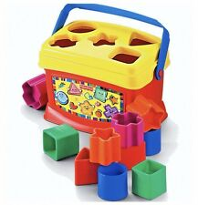 New Fisher Price Baby's Toddlers First Blocks 6-36 Months Christmas Gift