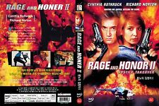 Rage And Honor 2,1993 (DVD,All,Sealed,New,Keep Case) Guy Norris