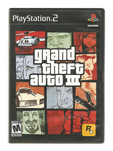 ROCKSTAR GAMES Play Station 2 GRAND THEFT AUTO III (Part of Trilogy) Video Game
