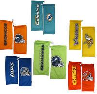 NFL Football Eyewear Microfiber Glasses Bag - Pick Team