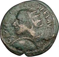 GORDIAN III 238AD Deultum in Thrace Ancient Roman Coin ZEUS Thunderbolt  i38551