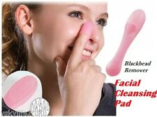 Facial Cleansing Pad Cleanser Face Skin Cleaner Silicon Blackhead Remover Brush
