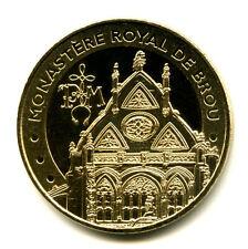 01 BOURG-EN-BRESSE Monastère de Brou 3, Fronton Est, 2021, Monnaie de Paris