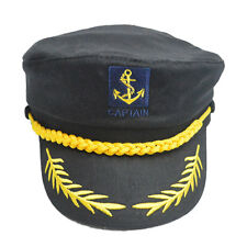 Cool Sailor Ship Boat Captain Hat Navy Marins Admiral Adjustable Cap 3 Colours G