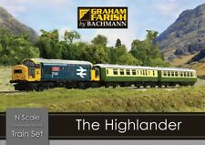 Graham Farish 370-048 The Highlander - Digital Train Starter Set (N Gauge)
