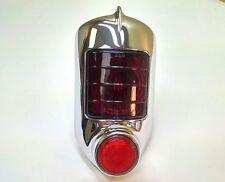 1951 1952 Chevrolet Belair Fullsize Tail Light Lamp Lens Chrome Assembly