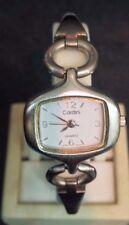 Nice unique vintage style Cardini silver tone quartz ladies watch