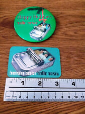 Beastie Boys Hello Nasty Rare Magnet Happy Holiday Promo Button Pin Vintage '98