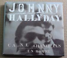 Johnny Hallyday, ça ne change pas un homme, CD digipack & fourreau