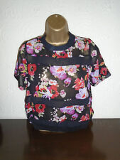 NEW Atmosphere Floral Blouse / T-Shirt Size 6