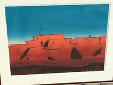 "Dan Namingha Original Lithograph ""Talavie"" Hand Signed & Numbered Western Art"