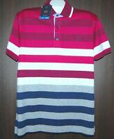 Paul&Shark Yachting AUTHENTIC  Stripes Men's Cotton Italy Polo T-Shirt Sz XXL