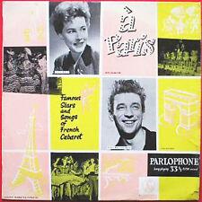 Vor 1970 Pop Vinyl-Schallplatten aus Frankreich